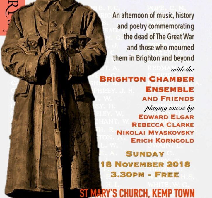 Centenary commemorations show on 17th October 2018