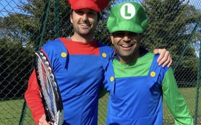 Ben Hutton vs. Bankim Chandra – The Tennis Showdown! match on Saturday 5th September raises £4,260