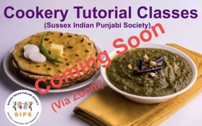 Cookery Tutorial Class – Coming Soon