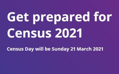 Census Day – Sunday 21st March 2021 (Complete Online)