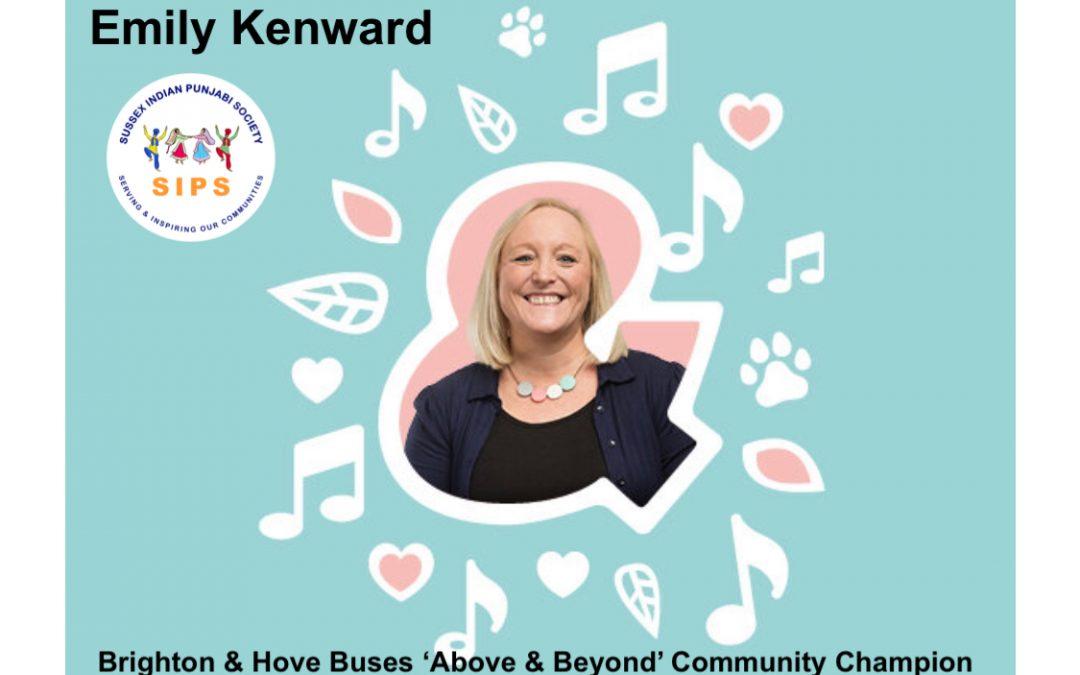 Emily Kenward – Member nominated for Above & Beyond