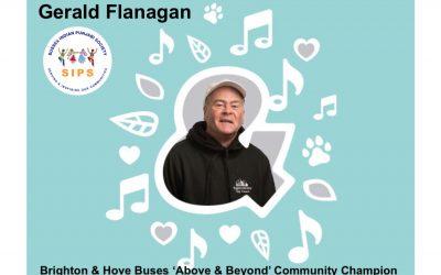 Gerald Flanagan – Volunteer nominated for Above & Beyond