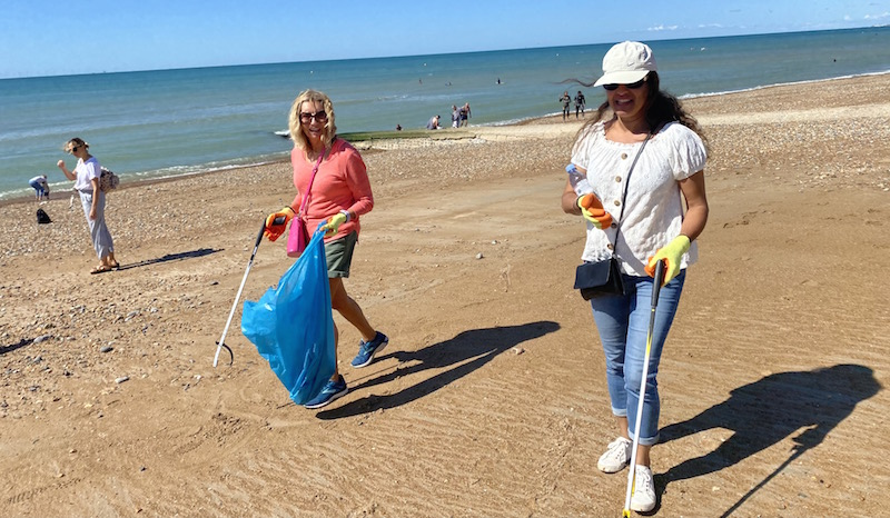 Beach Clean – Sunday 16th May 10am – 1pm at Peace Statue on Hove Lawns